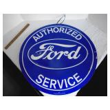 Metal Sign Ford new