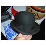 Bowler hat and box