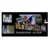 Thanksgiving auction By Lloyds of Lakeland