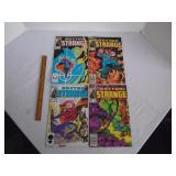 Strange comic books