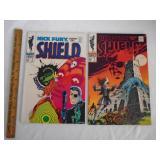 Nick Fury Shield psychedelic