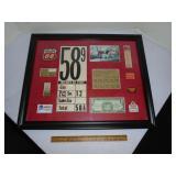 Oil Company advertising framed