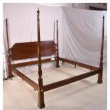 Stickley King poster bed