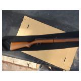 Benjamin 397 .177 cal. rifle is a multi-pump pneumatic. , hardwood Monte Carlo stock brass barrel is