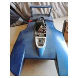 Furaba boat with remote control 72.960 mhz.FP-528 indirect drive