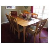 GORGEOUS TABLE/CHAIRS AND CREDENZA