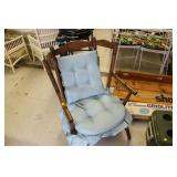 Padded Wood Chair