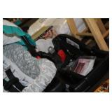 Girls carseat and base