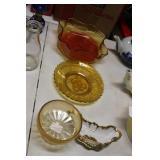 Amber & Carnival Bowls