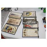 Framed Post Cards