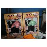 Moe & Curly Collector Dolls