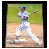"""Salvador Perez Kansas City Royals Authentic Autographed Photo With COA 8"""" x 10"""""""