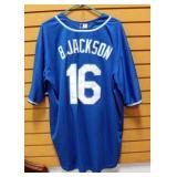 Bo Jackson Kansas City Royals Baseball Jersey Size 3XL