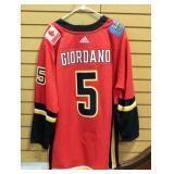 Mark Giordano Calgary Flames Hockey Jersey Size 60