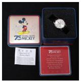 Avon Mickey Mouse 75th Anniversary Watch In Commemorative Tin, Unused