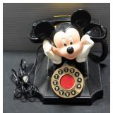 Telemania Mickey Mouse Desk Phone