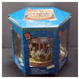 A Mickey Holiday Carousel By Mr. Christmas In Original Box