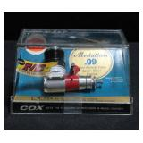 Cox Medallion .09 Front Rotary Valve Sport-Stunt Engine In Box