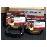 SecureLine Survival Bracelets 550 Paracord Military Grade, Size Medium, Unused In Original Packaging