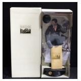 Franklin Mint Frank Sinatra Musical Porcelain Doll With Paperwork And Original Packaging