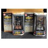 Comic Book Champions Fine Pewter Limited Edition Collectors Series Batman 1994 (3) And Joker 1978 (4
