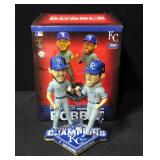 Kansas City Royals Eric Hosmer/Mike Moustakas Celebrate Bobblehead
