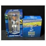 Salvador Perez Bobblehead By Forever Collectibles And Mike Moustakas Bobblehead From 2015 Royals Bob