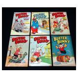 Standard Comics Buster Bunny #1 GD+, #2 VG+, #7 GD+, 9 VG+, #12 GD, #13 VG+