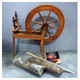 "Spinning Wheel 13.5""W x 33.5""H x 31""L And More"