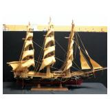 "Large Model Of 1851 Clipper Ship Flying Cloud On Stand 34""H x 41""L"