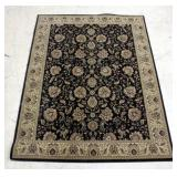 "Empire Collection Area Rug Design 2538/EP Brown 53""W x 87""L"