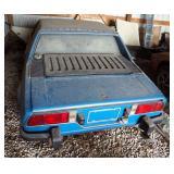 1974 Fiat M Bertone X1/9, 2 Door Coupe, title #ACA474766, Vin#128AS023598, body Style Tudor, 4 Cycle