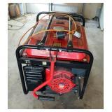 Kingcraft Rolling Gas Powered Generator Item #7105, 122-1240 Volts, 60HZ, 5.0KW, 6.0 KW Peak, Power