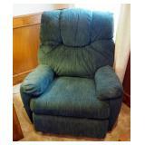 Upholstered Rocking Recliner