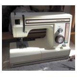 """New Home Electric Portable Sewing Machine With Pedal And Free Standing Embroidery Hoop 32"""" x 27"""" x 1"""