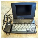 AST Advantage Explorer Color Notebook Model #486SX-25 With Charging Cable