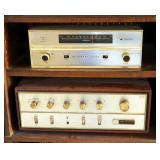 Bogen FM Stereo Tuner And Fisher Amplifier Model X-100-C