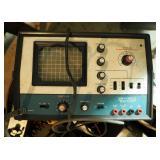 Heathkit Ocsilloscope Model #IO-4541, Pace II-S CB, Simpson Volt Meter, VSWR Test Meter, Heathkit Ve