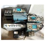 Tektronix Model #455 Oscilloscope Qty 4, Fluke DC Differential Voltmeter And Voltage Power Supply, T