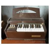 Vintage Electric Organs, Happytime & Melodee By Magnus Cord Organs, Qty 2