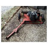 """Swisher Pull Behind Mower Deck, With Briggs & Stratton 8 HP Engine, 40"""" Deck With Adjustable Pull Ba"""