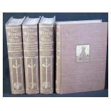 The Winning Of The West By Theodore Roosevelt, 4 Volume Set