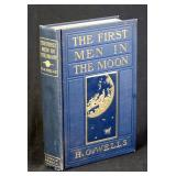 First Men In The Moon by H.G. Wells, 1901 1st ed