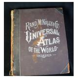 Universal Atlas Of The World, 1897
