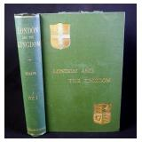 London And The Kingdom by Reginald R. Sharpe, 3 Volumes, 1894