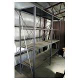 "Metal Storage Shelving With 4 Adjustable Shelvs, Qty 2, 85"" X 48"" x 24"""