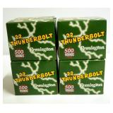 Remington 22 Thunderbolt .22LR 40 Gr Round Nose Ammo, Approx 2000 Rounds