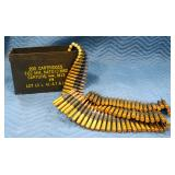 Full Can Of 30-06 M1 Link Belt-Fed Ammunition, Approx 250 Rounds