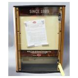 Unused New Case Retail Wall Hanging/Table Top Knife Display And Storage Cabinet Metal Front, Storage