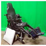 Pride Mobility Quantum 6000 Power Wheelchair, Power Tilt, Incredi Back, Swing Away Joystick, 6-Wheel